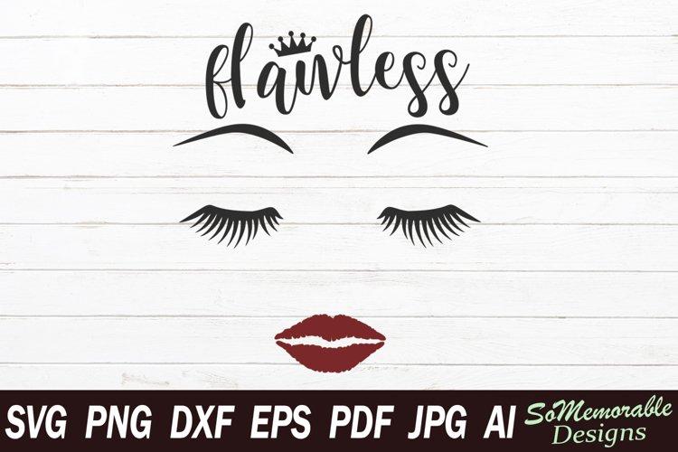 Makeup SVG cut file, Makeup svg design example image 1