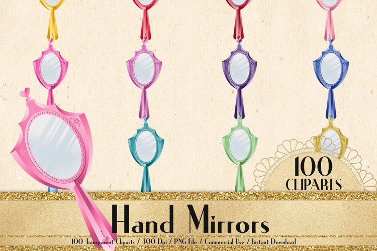 100 Hand Mirror Clip Arts, Princess Mirror, Bridal Mirror example image 1