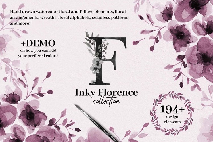 Inky Florence Collection example image 1