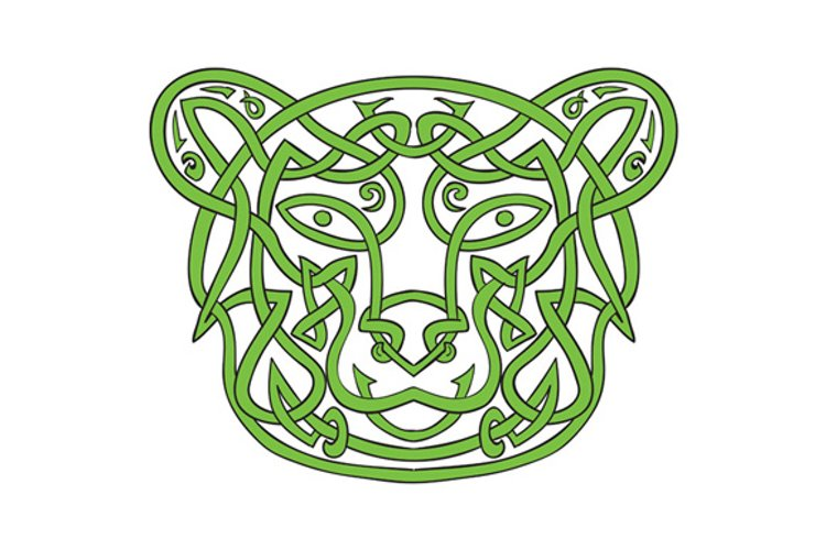 Bear Celtic Knot example image 1