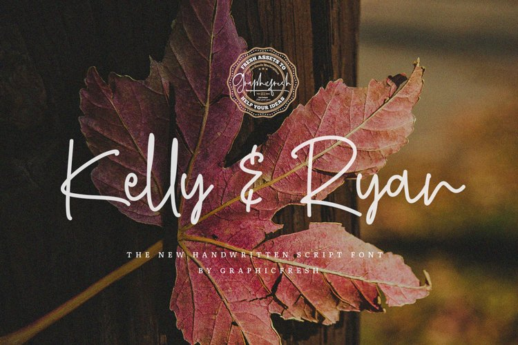 Kelly & Ryan | The Handwritten Font example image 1