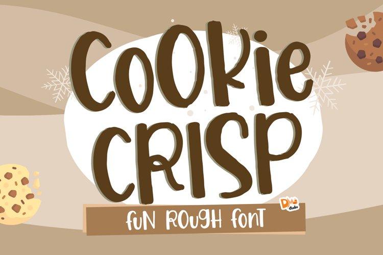 Cookie Crisp - Fun Rough Font example image 1