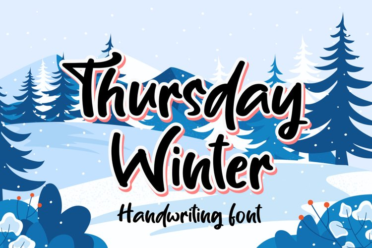 Thursday winter example image 1