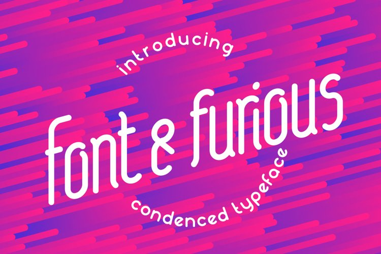 Font&furious example image 1