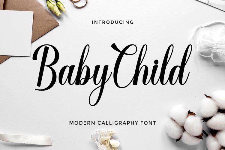 Baby Child Script example image 1