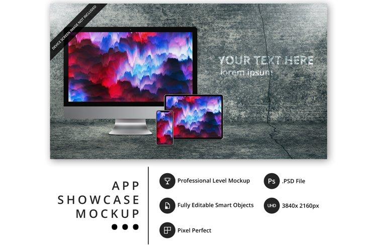 psd mockup with iPhone 11 Pro, iPad Pro, iMac Pro example image 1
