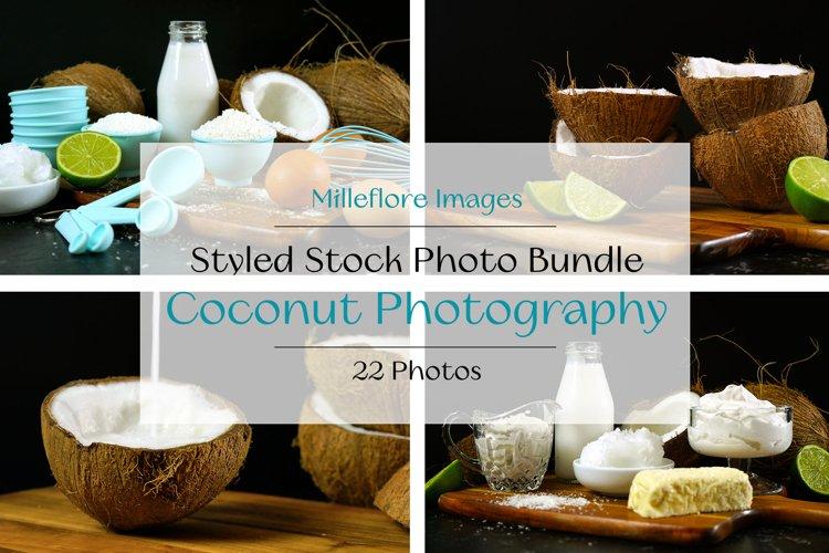 Coconut Photography Food Blog Recipe Styled Photos Bundle