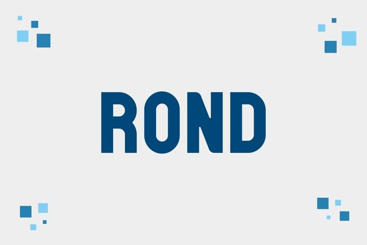 Rond - 3 Styles Bundle example image 1