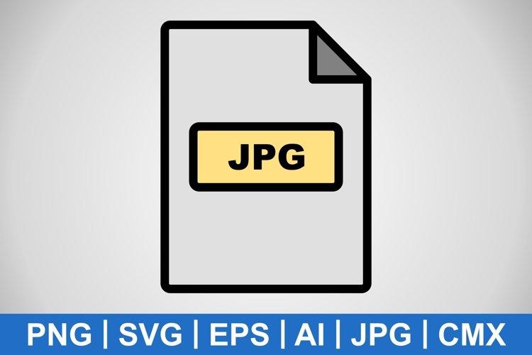 Vector JPG Icon example image 1