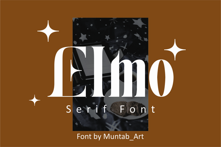 Elmo | Modern Serif example image 1