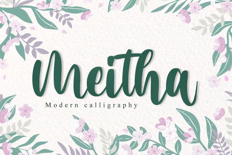 Meitha Script example image 1