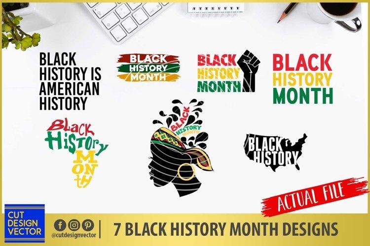 Black History Month SVG Bundle