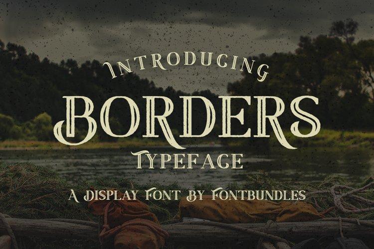 Web Font Border example image 1