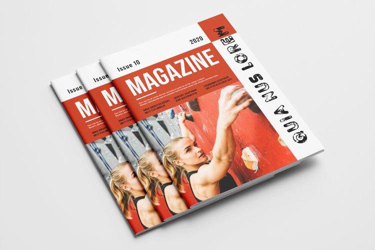 Creative Magazine Template example image 1