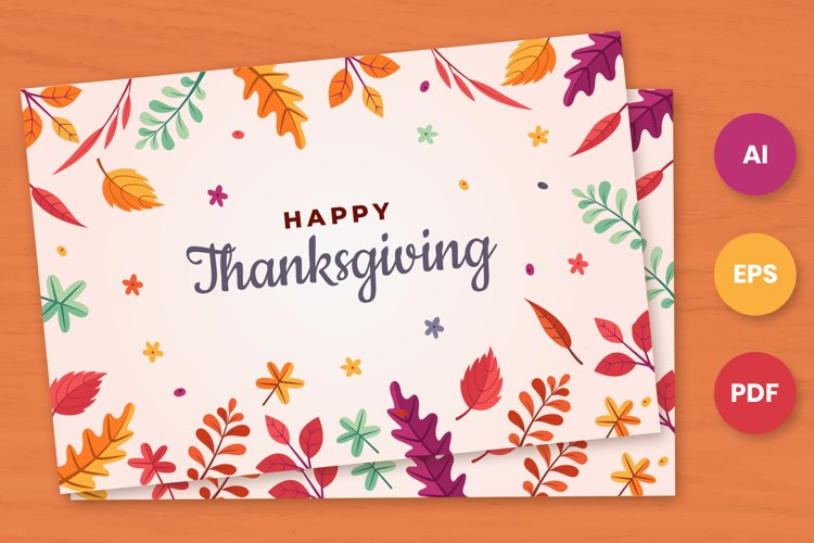 Happy ThanksGiving Card and Invites example image 1
