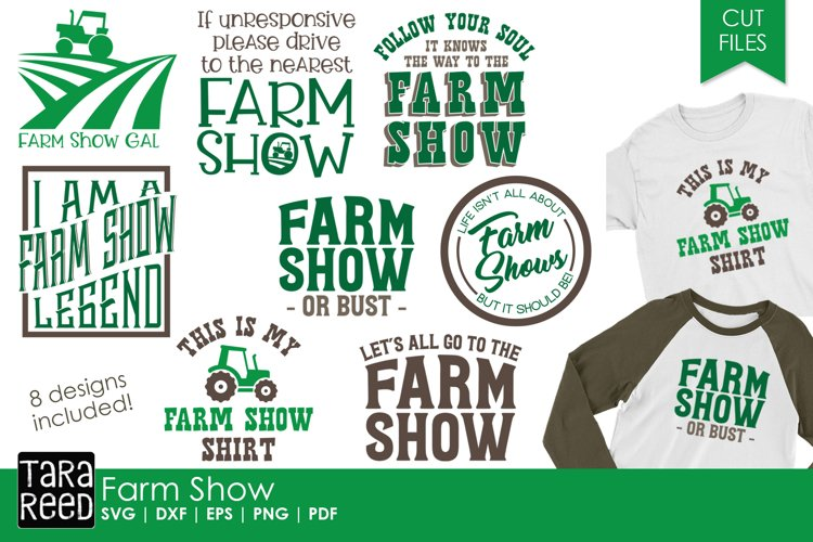 Farm Show - SVG and Cut Files for Crafters