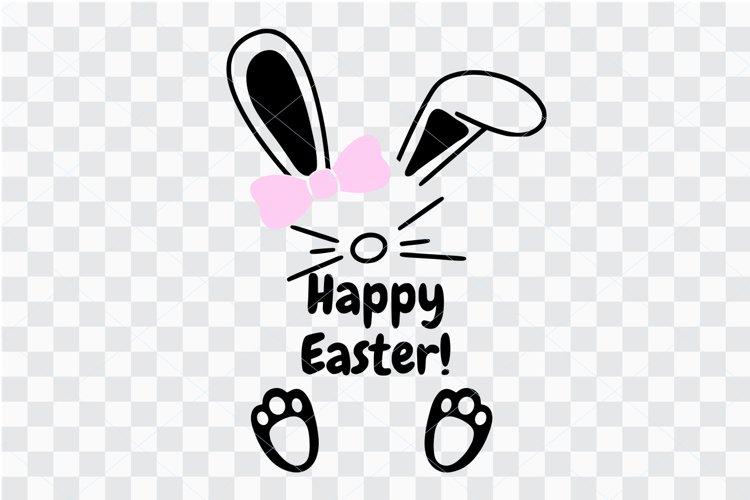 Easter girl svg, cute onesie cut file, Easter baby onesie