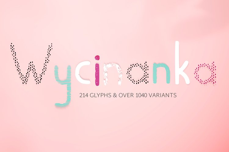 Wycinanka font example image 1