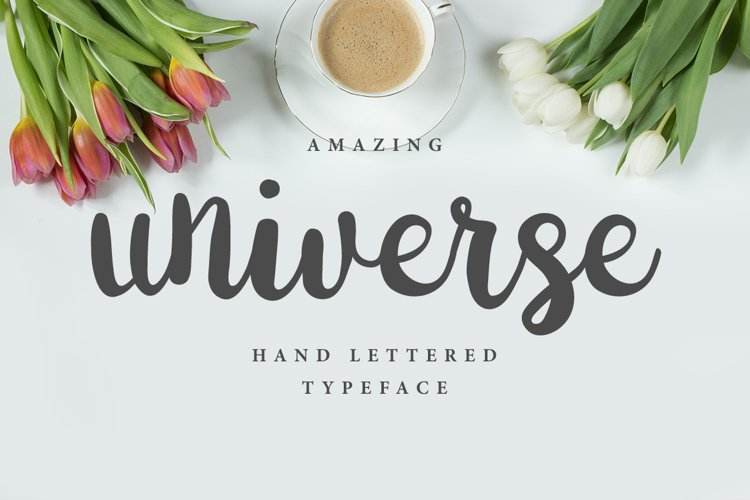 Universe Brush Font