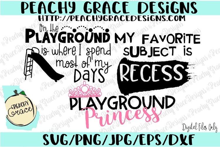 Playground Mini Bundle SVG
