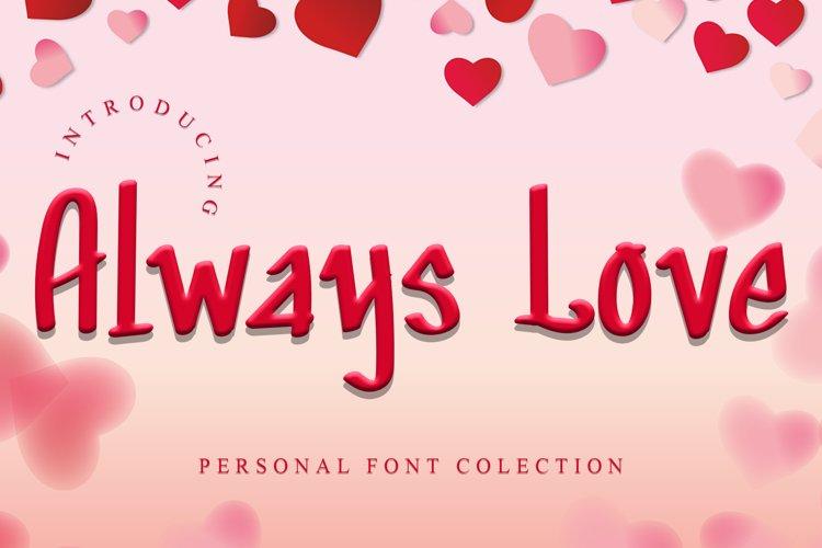 Always Love example image 1