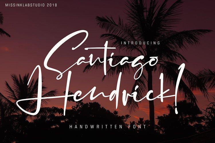 Santiago Hendrick example image 1