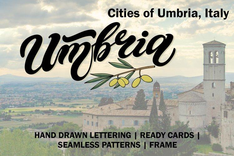 Umbria Set. Italy example image 1