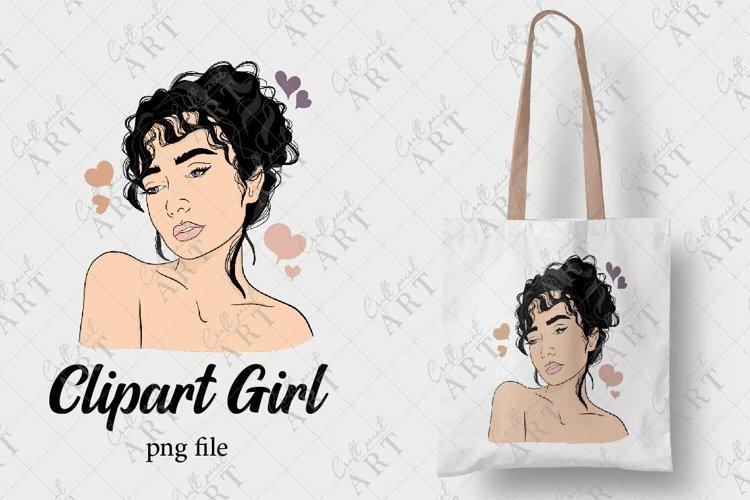 Clipart Girl, Illustration, Fashion Girl