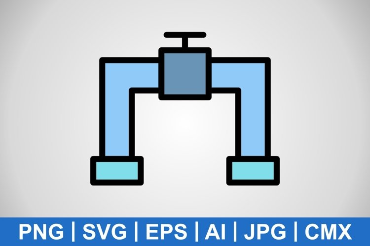 Vector Pipe Icon example image 1