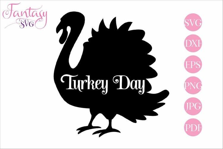 Turkey Day - SVG Cut File
