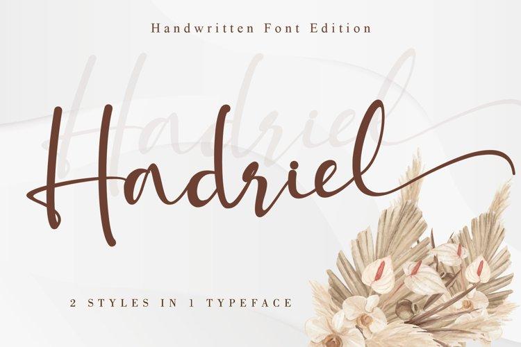 Hadriel example image 1