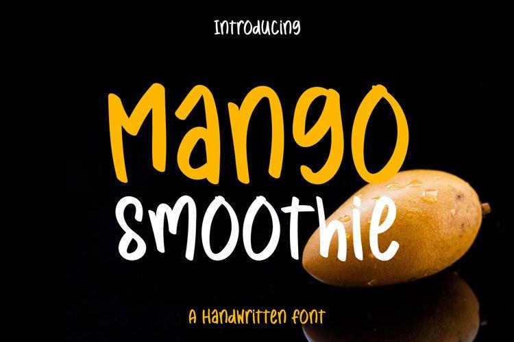 Mango Smoothie example image 1