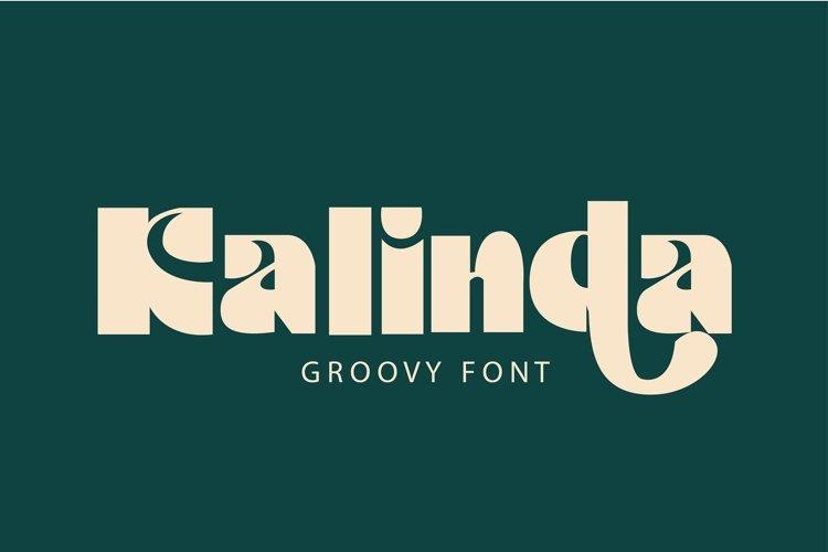 Kalinda Font example image 1