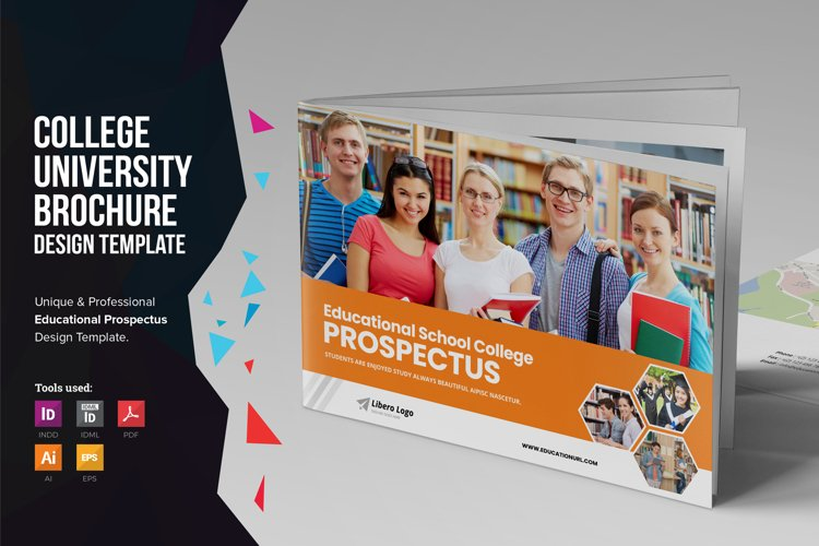 Education Prospectus Brochure v6 example image 1