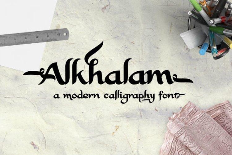 Alkhalam Font  example image 1