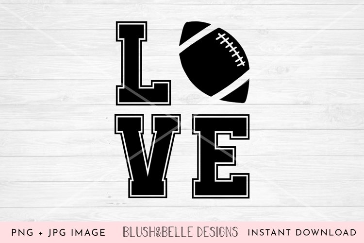 Football Love - PNG example image 1
