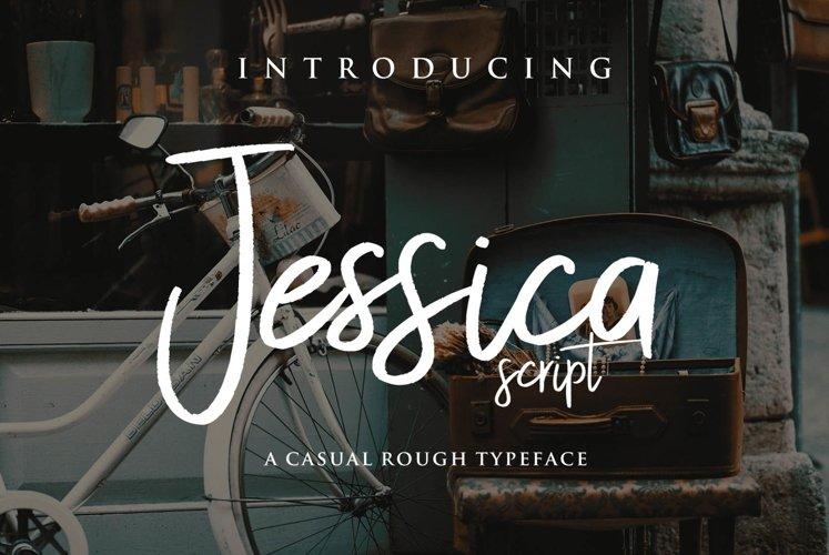 Web Font Jessica Script example image 1