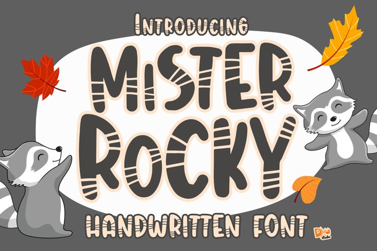 Mister Rocky - Handwritten Font example image 1