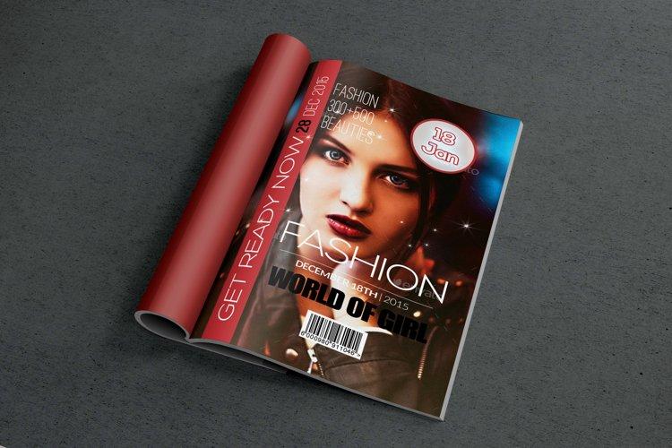 Model Magazine Cover example image 1