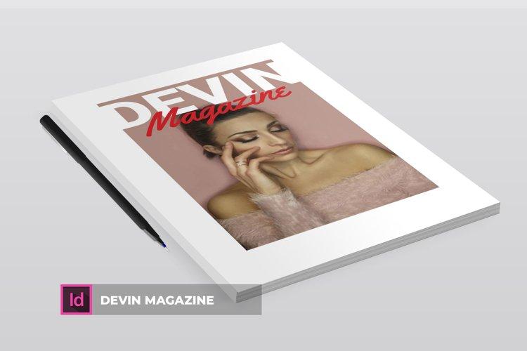 Devin | Magazine example image 1