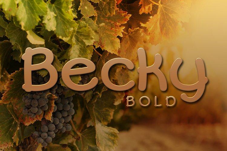 Becky Bold