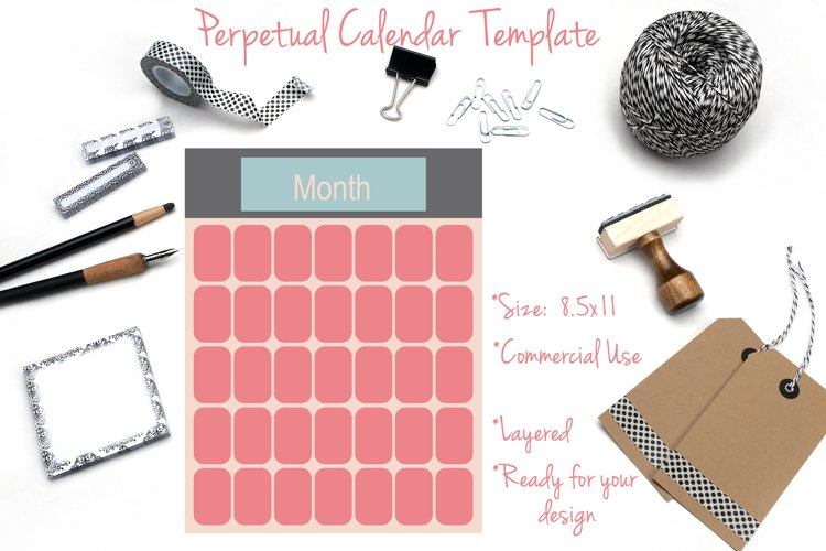 Perpetual Calendar Template