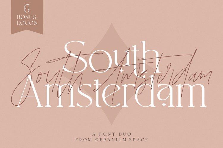 South Amsterdam Font Duo & Logos