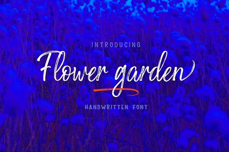 Flower garden example image 1