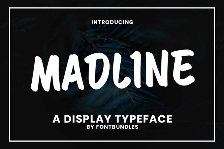 Web Font Madline