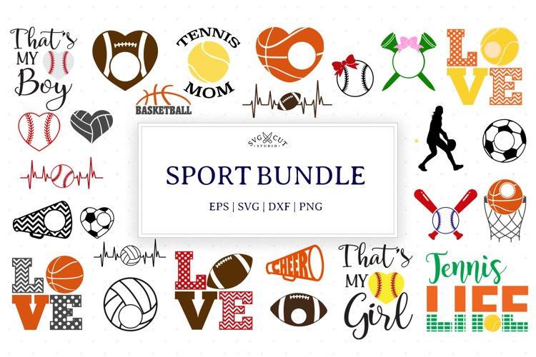 Sport Bundle SVG Files, Sport SVG Files