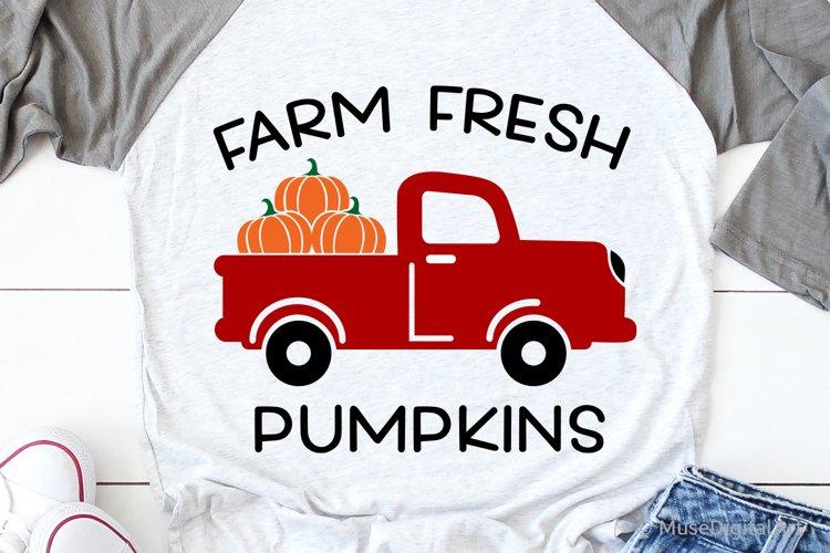Farm Fresh Pumpkins Svg, Pumpkin Patch Market Svg, Harvest