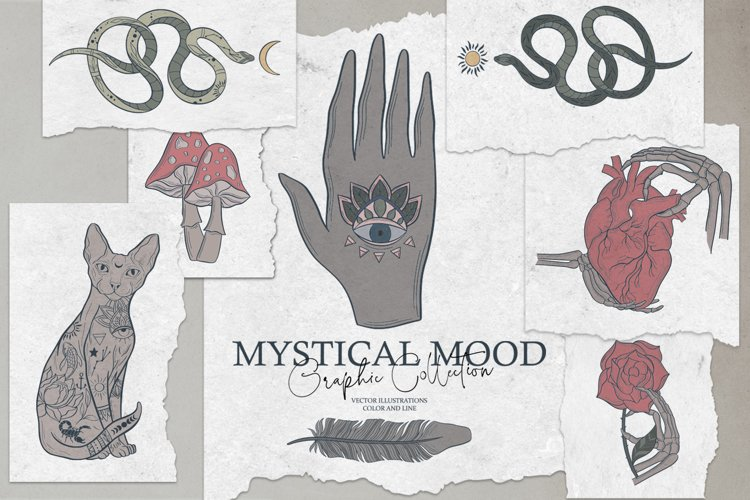Mystical Mood. Graphic Collection