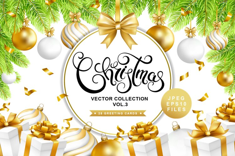 Christmas vector collection vol.3 example image 1
