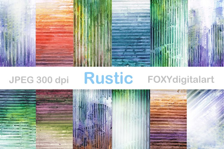 Digital paper watercolor grunge vintage abstract background example image 1